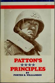 Cover of: I remember General Patton's principles by Porter B. Williamson