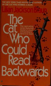 Cover of: The Cat Who Could Read Backwards | Lilian Jackson Braun