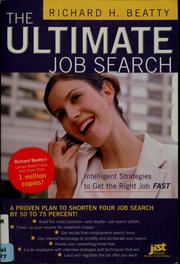 Cover of: The ultimate job search | Richard H. Beatty