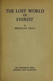 The lost world of Everest