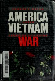 Cover of: America after Vietnam | Edward F. Dolan