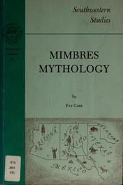 Cover of: Mimbres mythology by Pat M. Carr