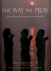 Cover of: The way we pray by Maggie Oman Shannon