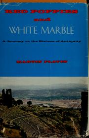 Cover of: Red poppies and white marble | Flavin, Martin