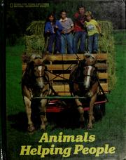 Cover of: Animals helping people by Suzanne Venino