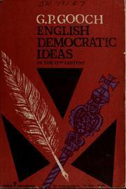 English democratic ideas in the seventeenth century