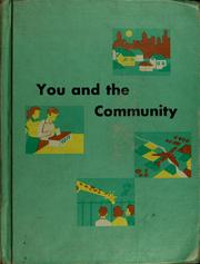 Cover of: You and the community | Clarence D. Samford