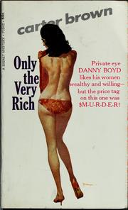 Cover of: Only the very rich? by Carter Brown