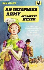 Cover of: An Infamous Army | Georgette Heyer