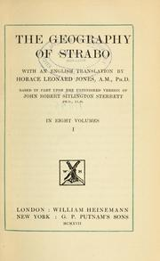 Cover of: The Geography of Strabo | Strabo