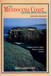 Cover of: Mendocino coast by Bob Lorentzen