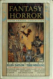 The Year's best fantasy and horror - 5th Annual Collection