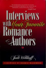 Interviews with your favorite romance authors