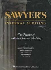 Cover of: Sawyer's internal auditing | Lawrence B. Sawyer