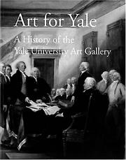 Cover of: Art for Yale | Richard Grossman