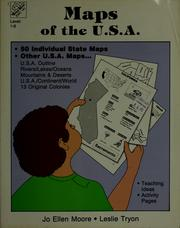 Cover of: Maps of the U.S.A | Jo Ellen Moore, Joy Evans, Leslie Tryon