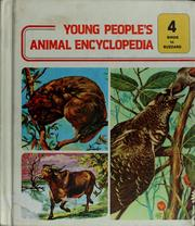 Cover of: Young people's animal encyclopedia by Maurice Burton