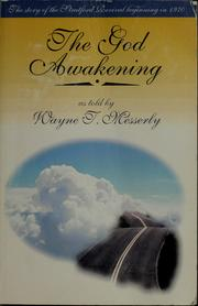Cover of: The God awakening by Wayne T. Messerly