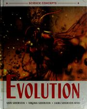 Cover of: Evolution | Alvin Silverstein