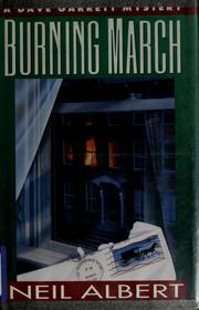 Cover of: Burning March by Neil Albert
