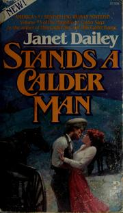Cover of: Stands a Calder man | Janet Dailey