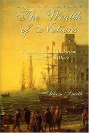 Cover of: The Wealth of Nations by Adam Smith