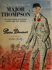 Cover of: Carnets du Major W. Marmaduke Thompson | Daninos, Pierre