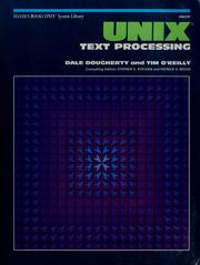 Cover of: Unix text processing | Dale Dougherty