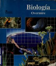 Cover of: Biología | Thomas G. Overmire