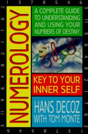 Cover of: Numerology | Hans Decoz