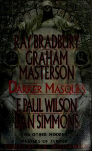 Cover of: Darker masques by J. N. Williamson