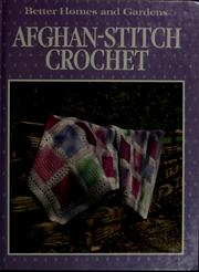 Cover of: Afghan-stitch crochet by