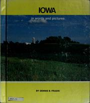 Cover of: Iowa in words and pictures | Dennis B. Fradin