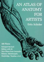 Cover of: An atlas of anatomy for artists | Fritz Schider