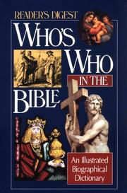 Cover of: Who's Who in the Bible by Reader's Digest