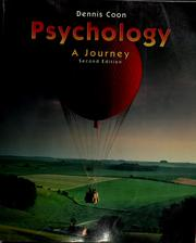 Cover of: Psychology | Dennis Coon