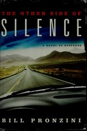 Cover of: The other side of silence by Bill Pronzini