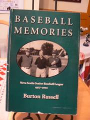 Cover of: Baseball Memories | Burton Russell