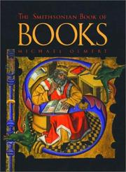 Cover of: The Smithsonian book of books by Michael Olmert