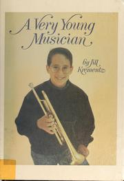 Cover of: A very young musician | Jill Krementz