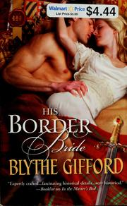 Cover of: His border bride by Blythe Gifford
