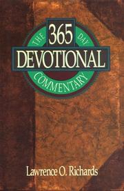 Cover of: The 365 day devotional commentary | Richards, Larry