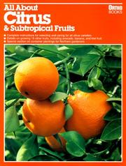 Cover of: All about citrus & subtropical fruits by Maggie Blyth Klein