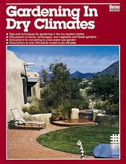 Cover of: Gardening in dry climates by Scott Millard