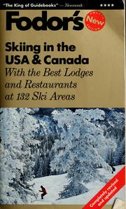 Cover of: Fodor's skiing in the USA & Canada | Staci Capobianco