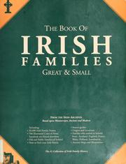 Cover of: The book of Irish families by Michael C. O'Laughlin