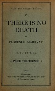 Cover of: There is no death | Florence Marryat