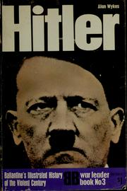 Cover of: Hitler | Alan Wykes
