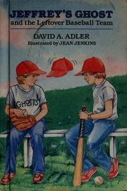 Cover of: Jeffrey's ghost and the leftover baseball team by David A. Adler