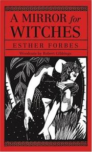 Cover of: A mirror for witches | Esther Forbes